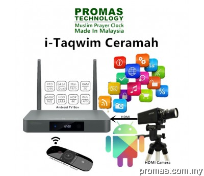 I-Taqwim Ceramah + HDMI Camera + Air Mouse